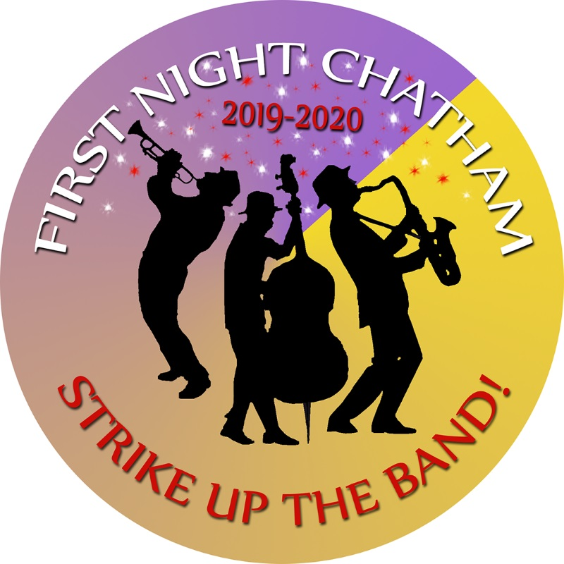 First Night Chatham 2020 Button